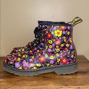 Dr. Martens Kids 4 Delaney boot Vintage Garden